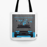 No183 My Back To The Fut… Tote Bag