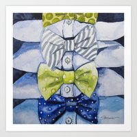 Bow Tie For All Occasion… Art Print