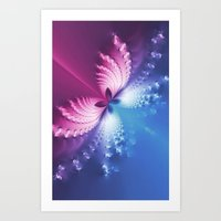 BEAUTY BUTTERFLY 4 Art Print