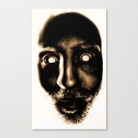 Zombie! Canvas Print