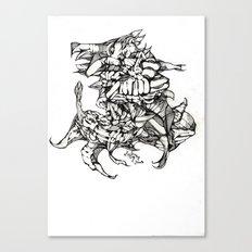Complex Carcass Canvas Print