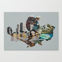 Genetically Modified Vis… Canvas Print