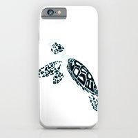 Calligram Sea Turtle iPhone 6 Slim Case