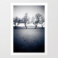 bruneau sand dunes. Art Print