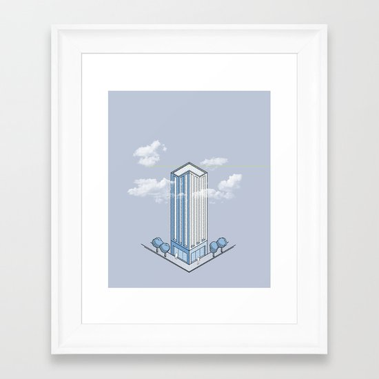 Architecture - You're Doing it Wrong Framed Art Print