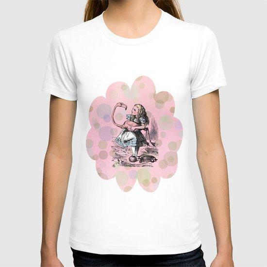 Alice plays Croquet T-shirt