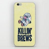 Killin' Brews iPhone & iPod Skin