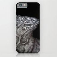 iPhone & iPod Case featuring Gary In Black by ECMazur