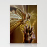 Electrified Butterfly Stationery Cards