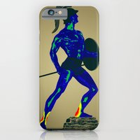 iPhone & iPod Case featuring Achiles - weakness vision by Octavian Mielu
