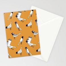 Bird Print - Orange Stationery Cards