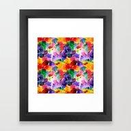 Floral Pattern 13 Framed Art Print
