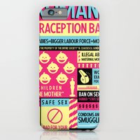 Contraception Ban iPhone 6 Slim Case