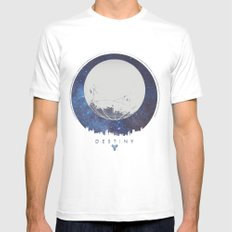 Destiny - Milkyway Mens Fitted Tee SMALL White