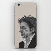 Serge Gainsbourg iPhone & iPod Skin