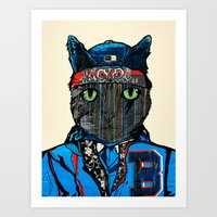 THAI CAT - SCREEN PRINT … Art Print