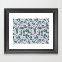 Union Leaf Framed Art Print