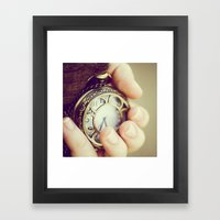 IT'S TIME Framed Art Print