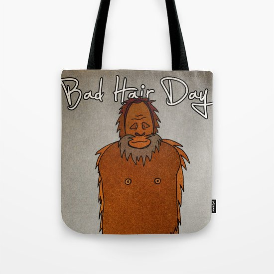 bad hair day no:4 / Bigfoot Tote Bag