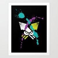 Splatoon - Turf Wars 3 Art Print