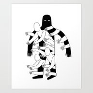Art Print featuring The Hole by Jack Teagle