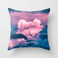 Alien Atmosphere Throw Pillow