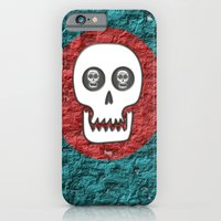 Skull Poppy iPhone 6 Slim Case