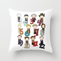 Count With The Doctors Throw Pillow
