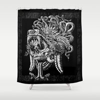 Serpent Warrior Shower Curtain