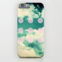 Clouds + Dots iPhone 6 Slim Case