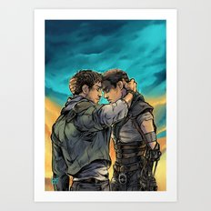 Say Goodbye Art Print