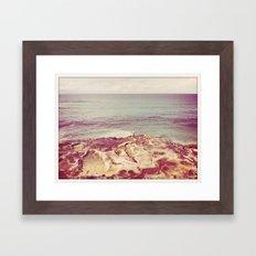 Fishing Solo Framed Art Print