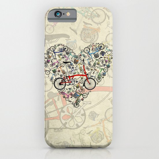 I Love Brompton Bikes iPhone & iPod Case