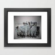 The 3 Amigos Framed Art Print