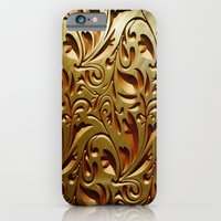 iPhone & iPod Case featuring Scroll Texture by Robin Curtiss