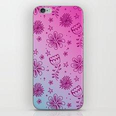 Summer Flower pattern iPhone & iPod Skin