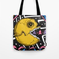 The Ojeros Ate Pacman Tote Bag