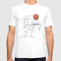 Procrastinate Mens Fitted Tee SMALL White