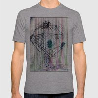 ... Mens Fitted Tee Athletic Grey SMALL