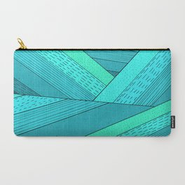 Carry-All Pouch - Ocean Waves -  Steve Wade ( Swade)