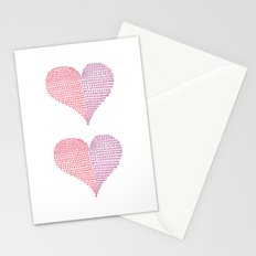 Hugs & Kisses Stationery Cards
