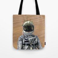 Cacti | Spaceman No:1 Tote Bag