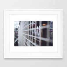 Rollercoaster Framed Art Print