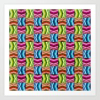 Left, Right, Up, Down Art Print