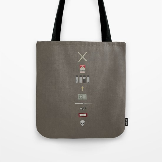 X-Files Tote Bag