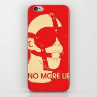 No More Lies iPhone & iPod Skin
