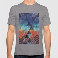 Astral-Projectionist Mens Fitted Tee Tri-Grey SMALL