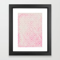 Summer Fade: Berry Popsi… Framed Art Print