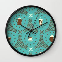 Coffee Hour Wall Clock