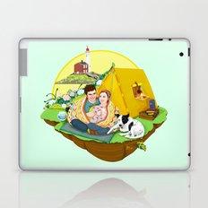 Custom Illustration for Emma and Edward Laptop & iPad Skin